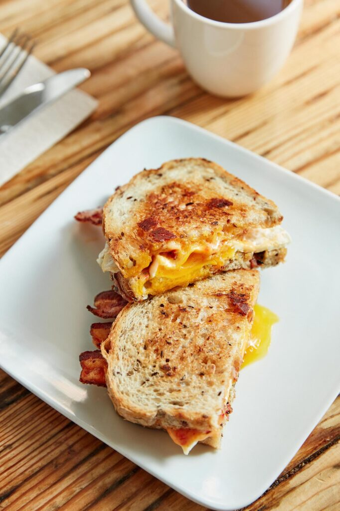 famous breakfast sandiwch cheapside cincinnati take out orders available