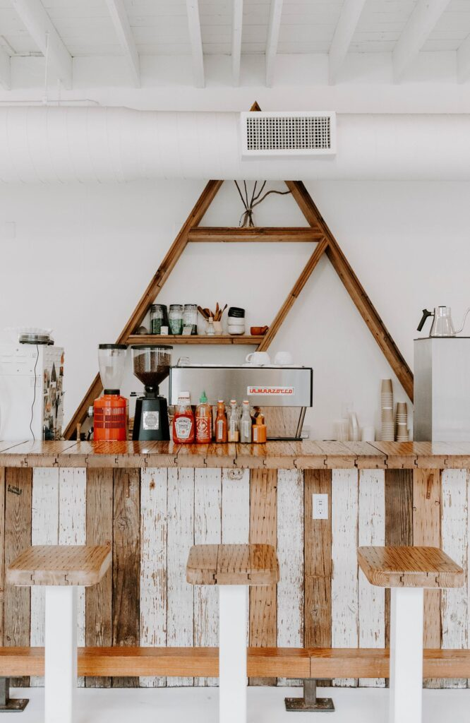 cheapside cafe triangle shelf