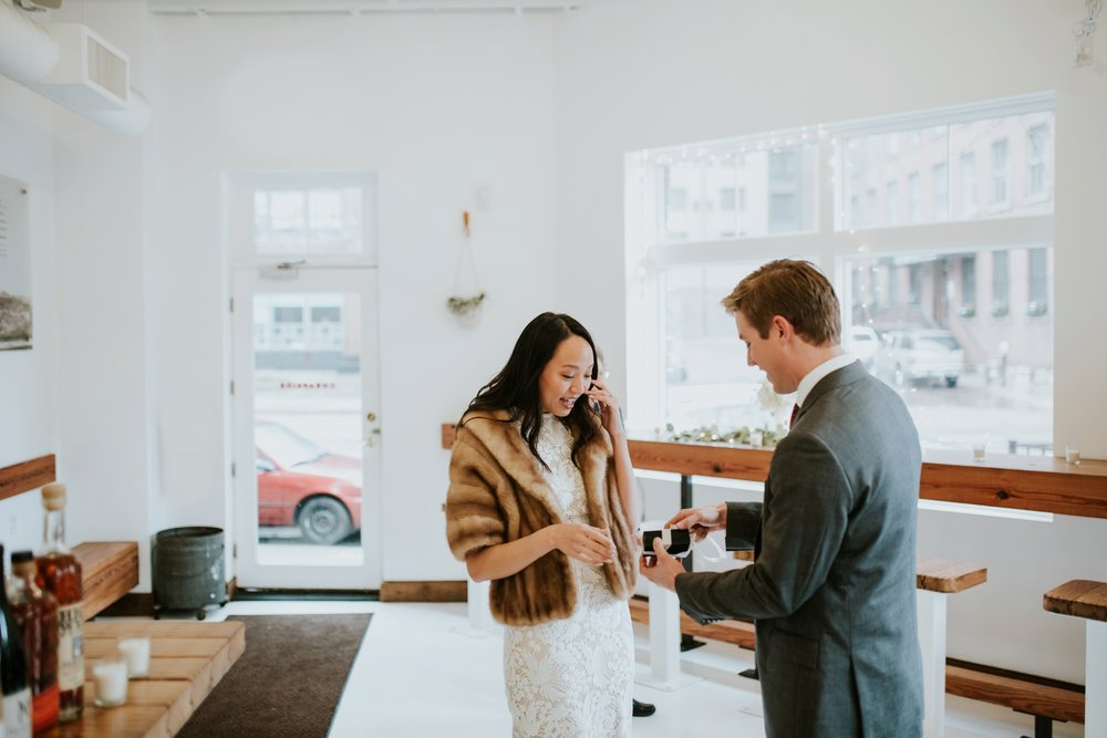 cheapside intimate wedding