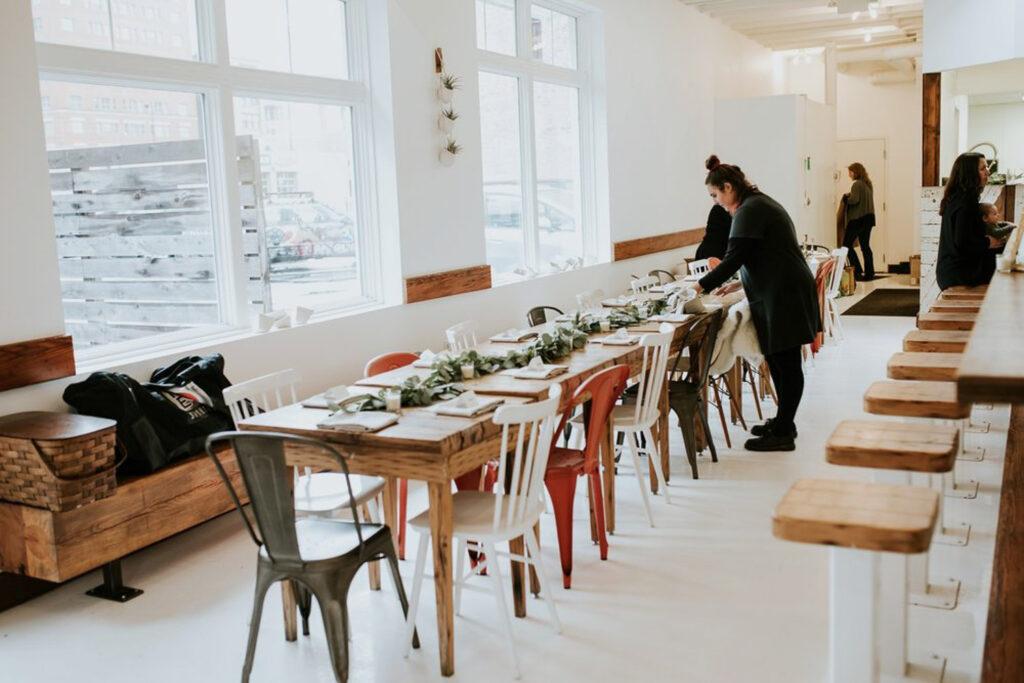 cheapside wedding preparation